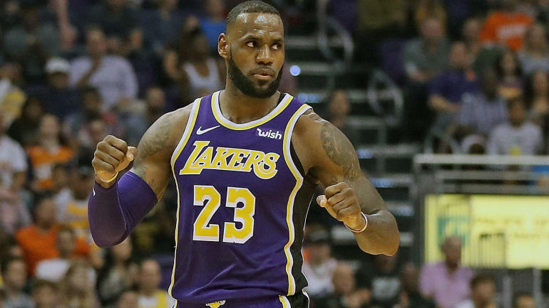 d917b7bdf30b NBA Star Power Index  LeBron James has Lakers humming  Kevin Durant getting  taste of Warriors  life without Steph Curry