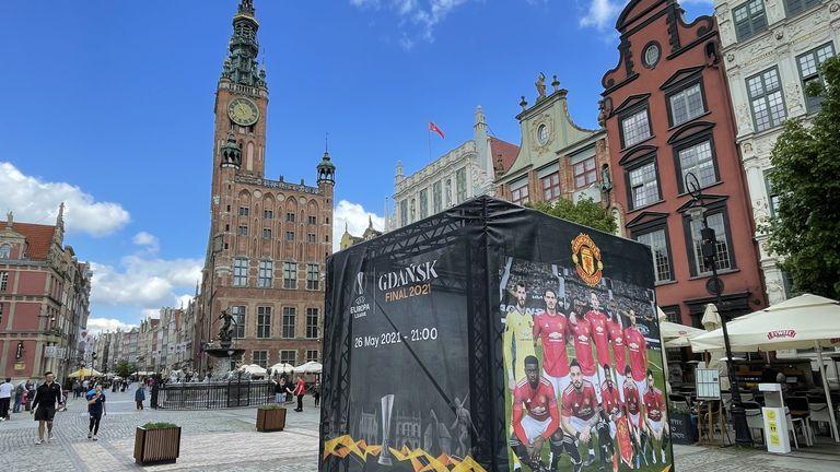 Manchester United Fansed In Gdansk Ahead Of Europa League Final Against Villarreal